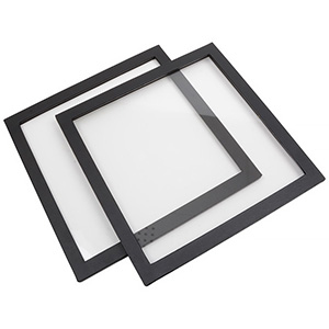 Lid for medium leatherette outer tray