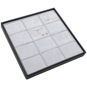 Medium tray for 12x jewellery set, horisontal