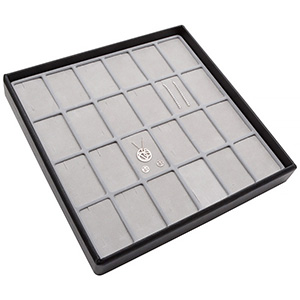 Medium tray for 24x jewellery set, vertical