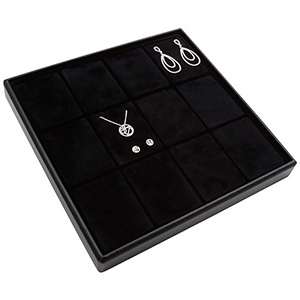 Medium tray for 12x jewellery set, vertical