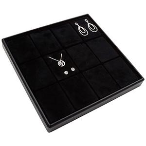 Medium tray for 12x jewellery set, vertical