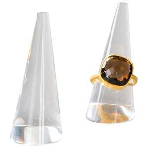 Display ring, cone Transparent acryl 55 x 24