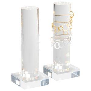 Display for 6 bracelets Transparent acryl 220 x 80 x 80 Ø 50mm