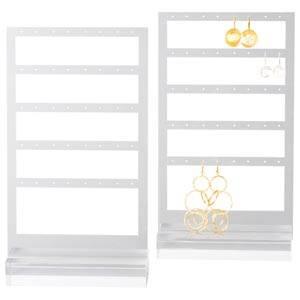 Display earrings, 20 pairs Transparent acryl 150 x 253 x 50