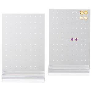 Display earrings, 40 pairs Transparent acryl 150 x 233 x 50