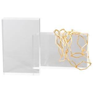 Display block, medium Transparent acryl 170 x 110 x 35