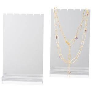 Présentoir collier - Plaque 3 chaînes/colliers, PM