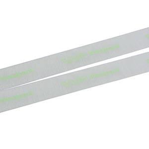Organza ribbon with smooth print