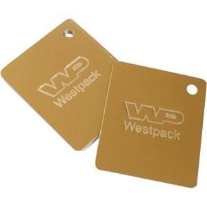 Cartes de voeux, doré # Imprimé avec logo