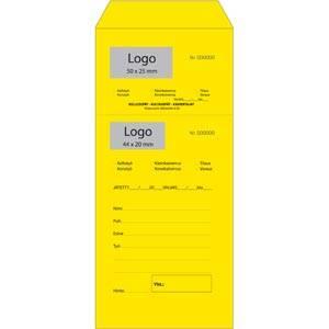 Reparaturbeutel m. Logo, nummeriert/perforiert, 1000 Stück