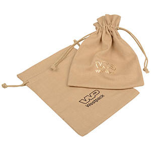 Linen Pouch, Medium Natural Linen 120 x 170