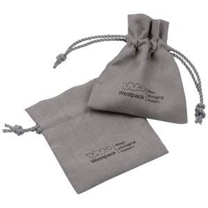 Imiteret ruskindspose, liten Ljusgrå 75 x 90