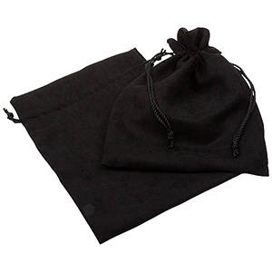 Suede pouch (imitation), XL