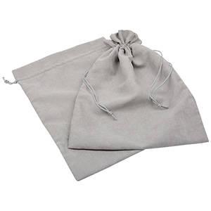 Imiteret ruskindspose, XXL Ljus grå 250 x 350