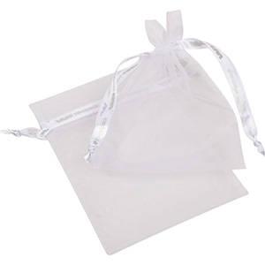 Grootverpakking Medium Organzazakje, logo op lint