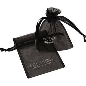 Grootverpakking Klein Organzazakje, met 2x logo