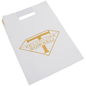 Plastic draagtasjes met logo, medium