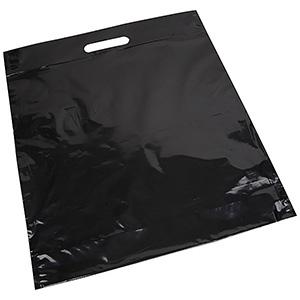 Plastic draagtasjes met logo, groot