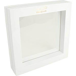 Cadre vitrine à fenêtre en silicone, G.M.