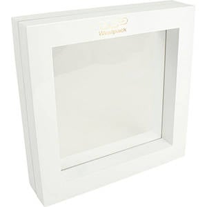 Display with silicone window, large