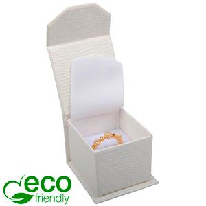 Nice ECO smyckesask till Ring Creme kartong/Vit skuminsats 47 x 52 x 39 (39 x 46 x 34 mm)