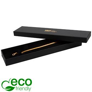 Boston ECO ask till Armband Matt svart kartong/Svart Skuminsats 225 x 50 x 22