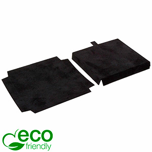 ECO Insats för hänge/armband Svart kartong med svart velourtoppskikt 79 x 79 x 10