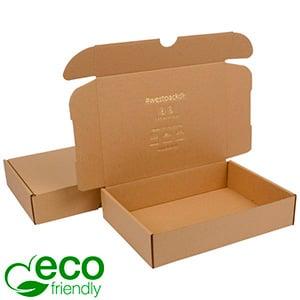ECO Postal Box - Large 52 Plain Brown Cardboard 175 x 245 x 52 (227 x 165 x 50 mm)  398 gsm