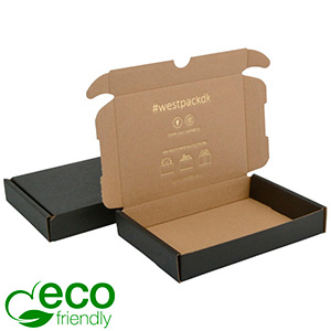 Karton fasonowy ECO, 177x118x29mm Czarny / Brązowy karton 177 x 118 x 29 (165 x 114 x 26 mm)  398 gsm