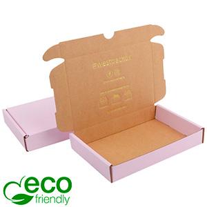Karton fasonowy ECO, 177x118x29mm Różowy / Brązowy karton 177 x 118 x 29 (165 x 114 x 26 mm)  398 gsm