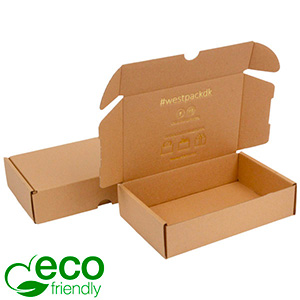 ECO transport box ECO - Liten 45 Natur kartong 184 x 116 x 45 (167,5x111,5x41,5 mm)  398 gsm