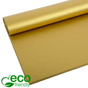 Papier bibułkowy ECO Złoty/ 240 arkuszy 700 x 500 17 gsm