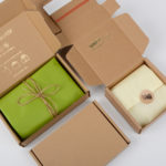 How to fold a postal box